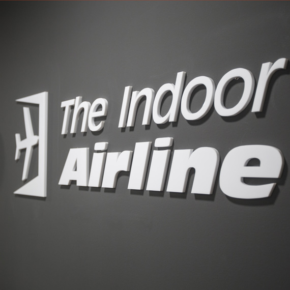 THE INDOOR AIRLINE